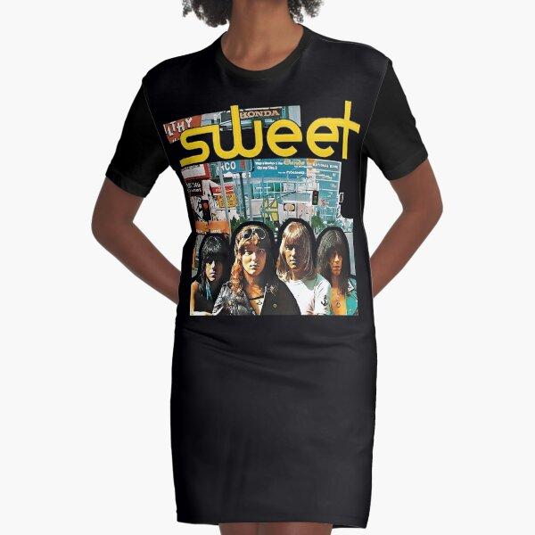 Sweet - Desolation Boulevard Graphic T-Shirt Dress