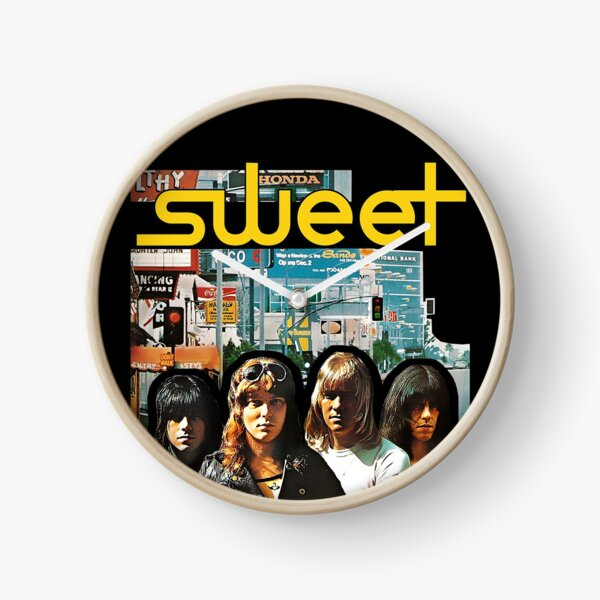 Sweet - Desolation Boulevard Clock