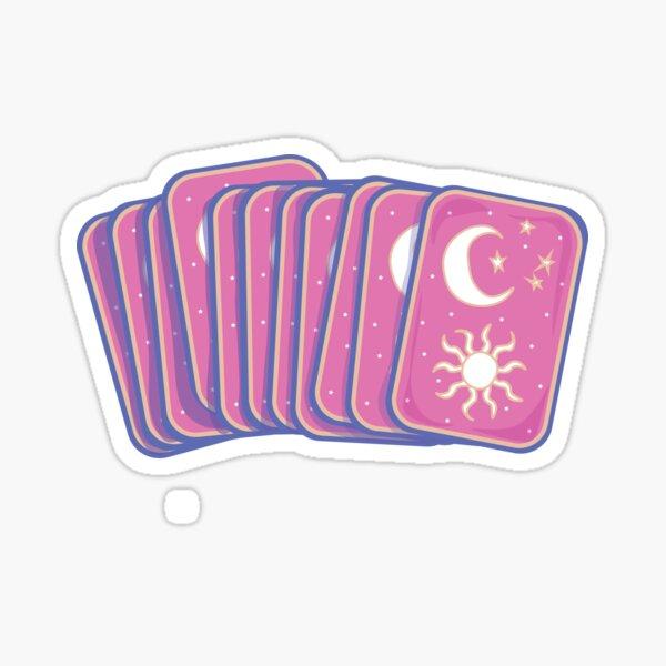 Tarot Card Spread Sticker
