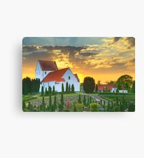 Korup Church Canvas Print