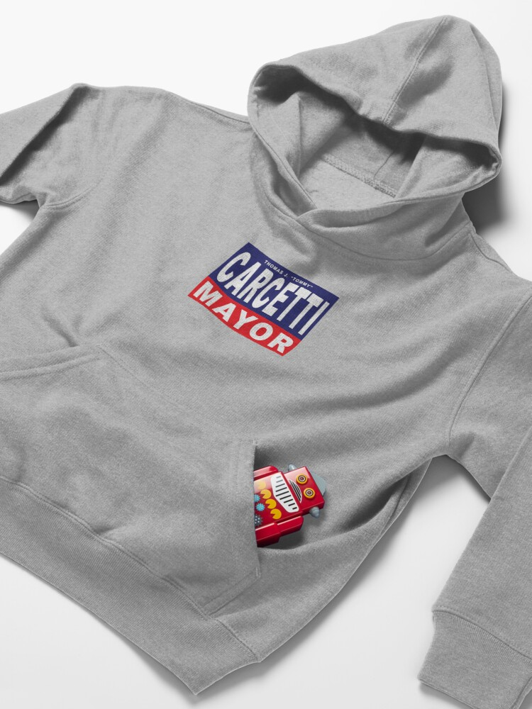 Alternate view of Carcetti for Mayor Kids Pullover Hoodie