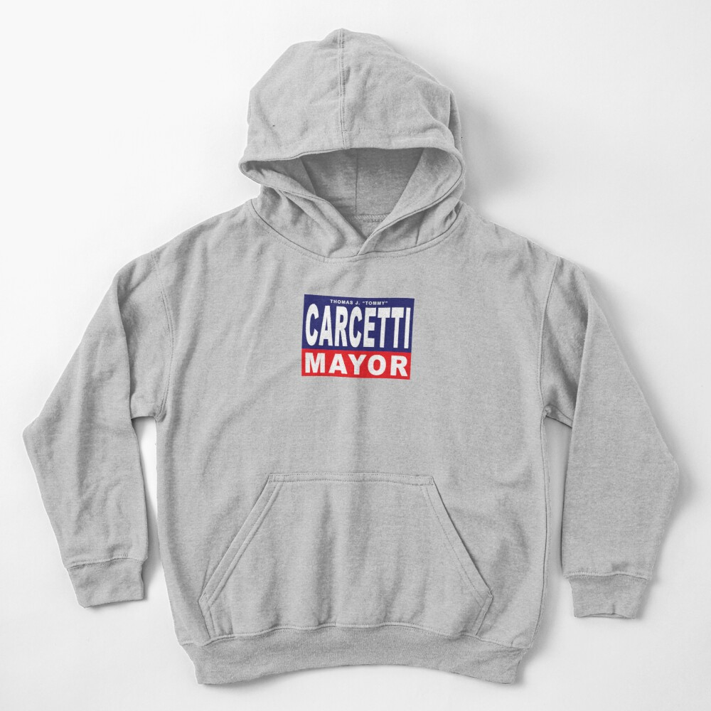 Carcetti for Mayor Kids Pullover Hoodie
