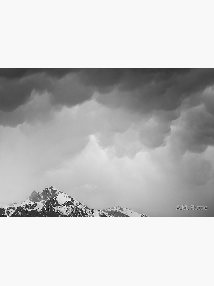 Mammatus Over Howling Wolf, The Tetons by annruttle
