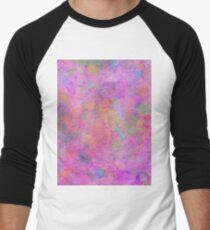 Colour Splash Men's Baseball ¾ T-Shirt