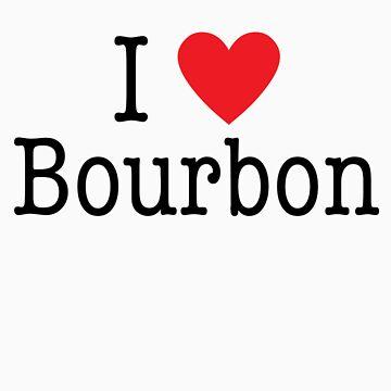 I <3 Bourbon by GoldMedia