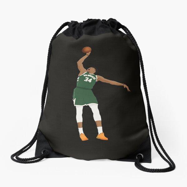 Giannis Antetokounmpo The Greek Freak Milwaukee Bucks Drawstring Bag