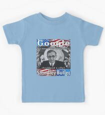 Smedley Butler American Patriot and Hero. Kids T-Shirt