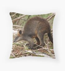 About to Leap! Throw Pillow