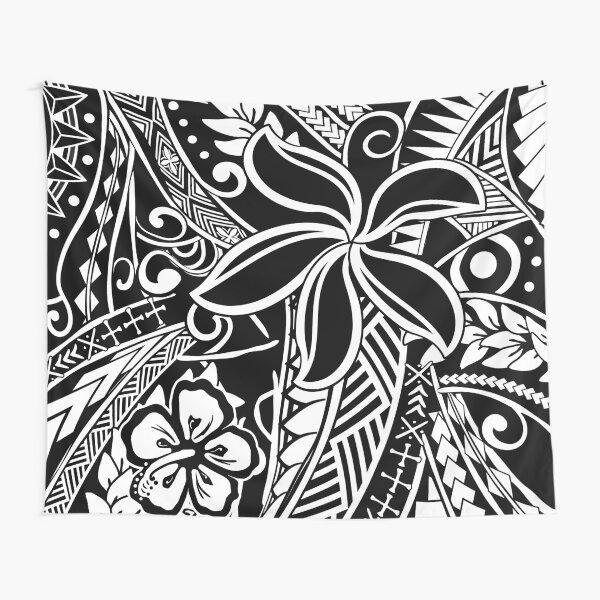 Tiare Flower Tribal