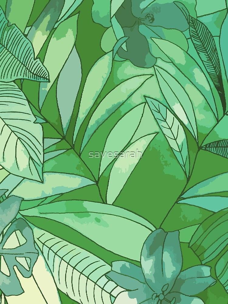 Green Jungle  by savesarah