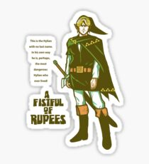 A Fistful of Rupees Sticker