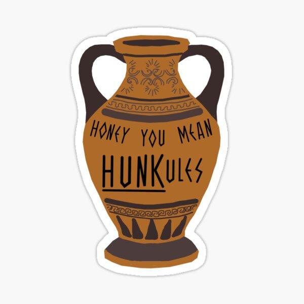 Hunkules Vase Sticker