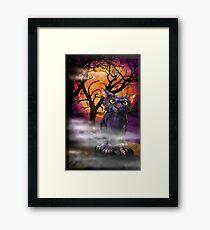 Boris Halloween. Framed Print