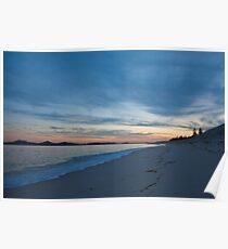 Sunset - Jimmys Beach Poster