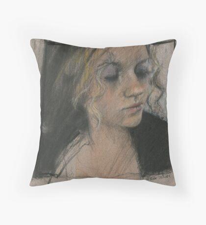 modest Amanda Throw Pillow