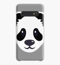 Emoji: Cute panda face Case/Skin for Samsung Galaxy