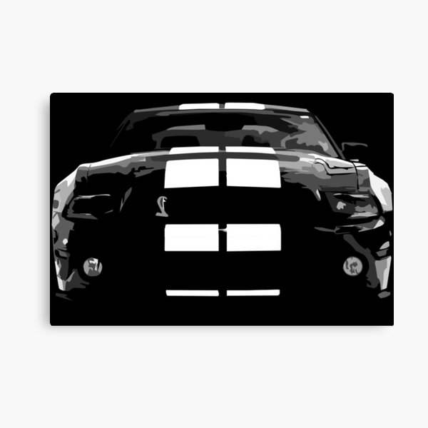 Ford Mustang GT500 Canvas Print