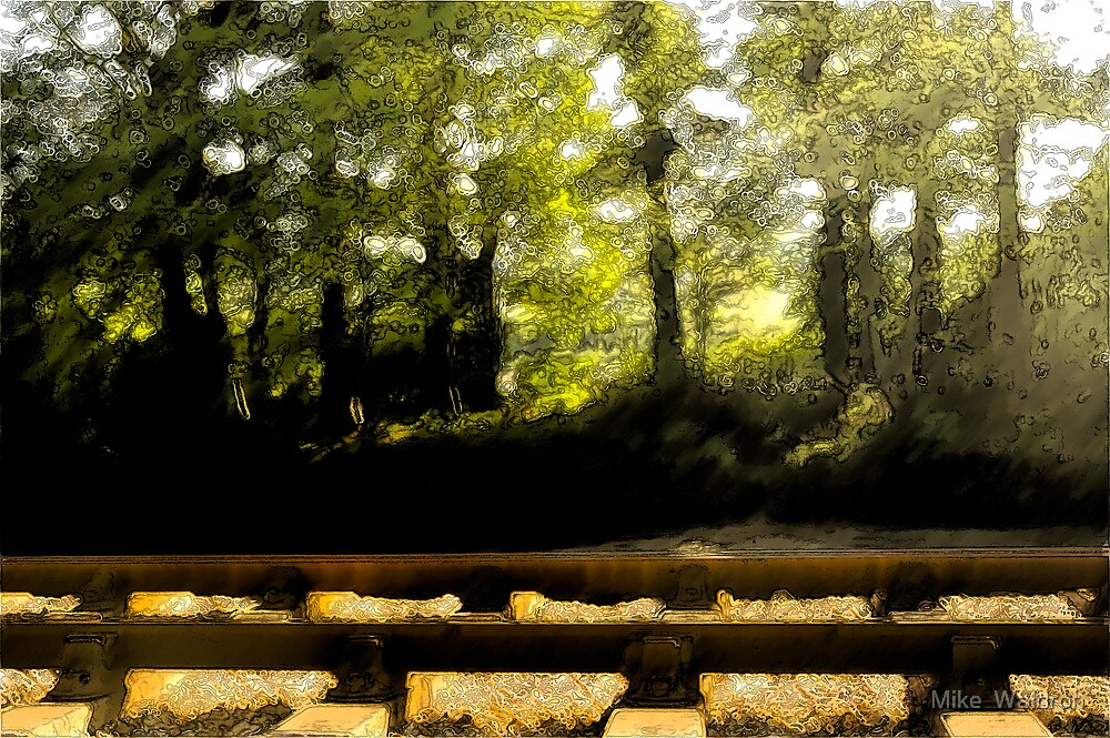 River, Road, and Rail.. by Mike  Waldron