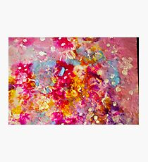 Organza Painting Photographic Print