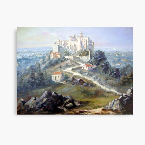 Convento Hieronimita em invocação a Nossa Senhora da Pena - Convento de São Jerónimo - Sintra - Portugal Metal Print