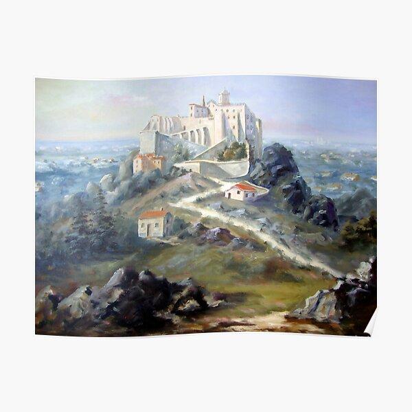Convento Hieronimita em invocação a Nossa Senhora da Pena - Convento de São Jerónimo - Sintra - Portugal Poster