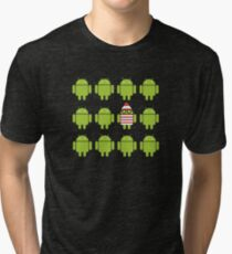 Where's Waldroid? Tri-blend T-Shirt