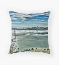 SF View Throw Pillow