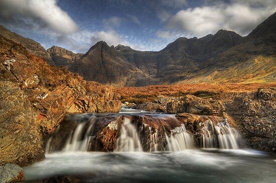Fairy Pools (4) by Karl Williams