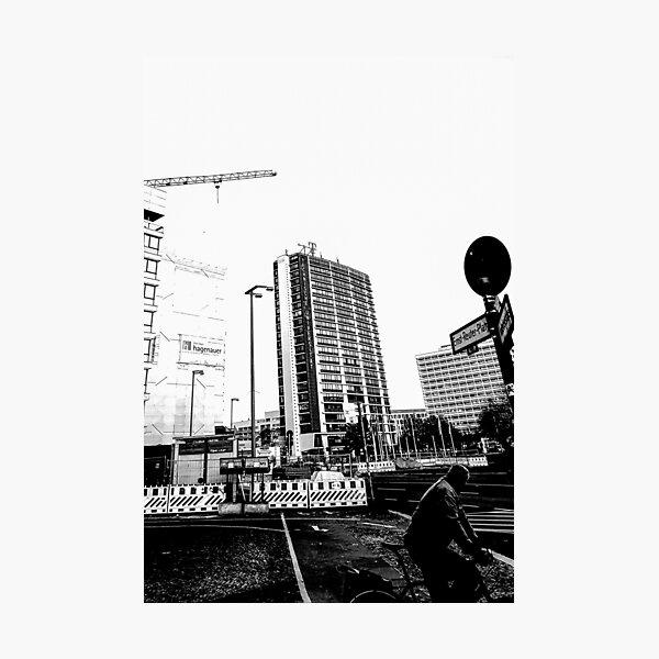Ernst- Reuter- Platz, Berlin Fotodruck