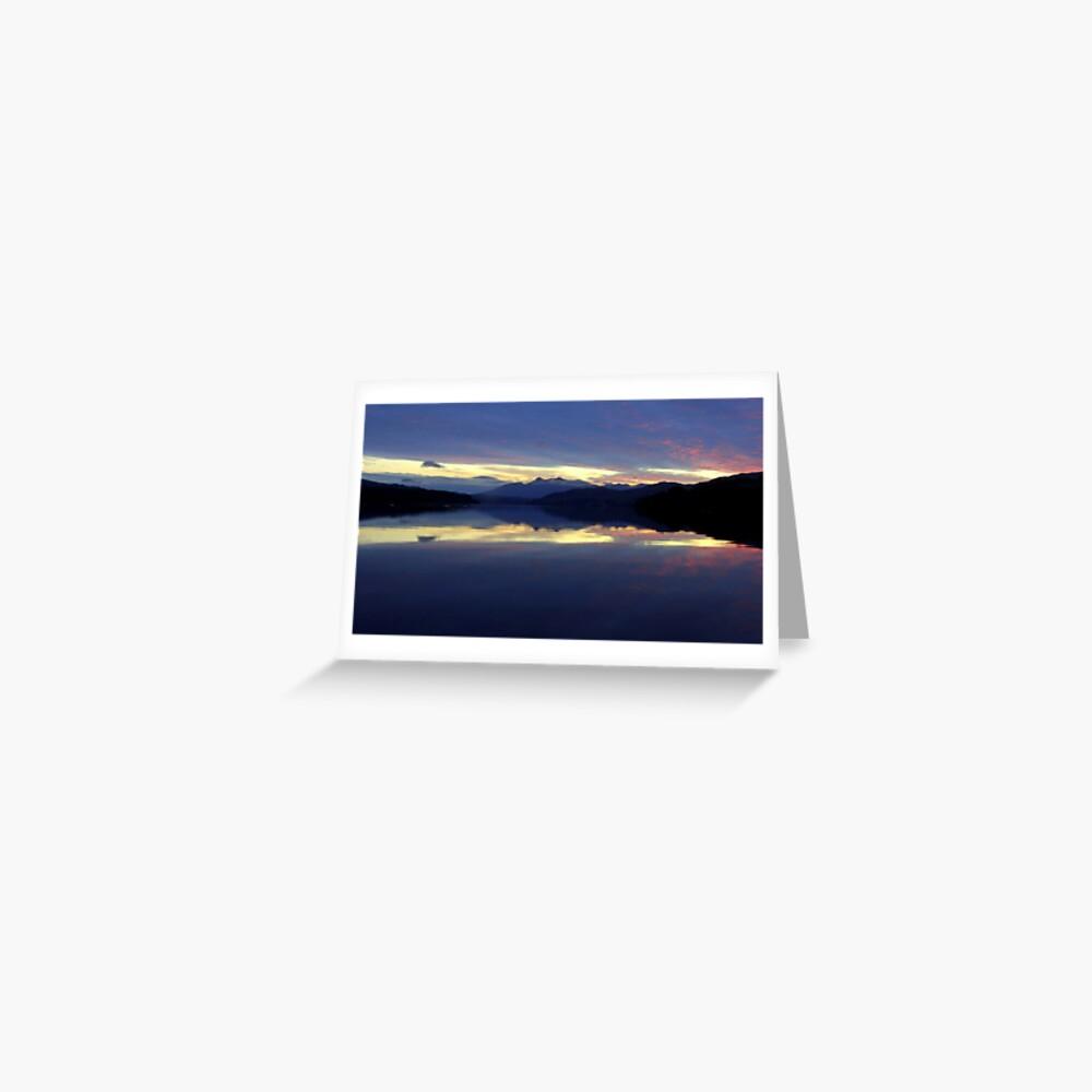 Loch Awe    Sunrise Greeting Card