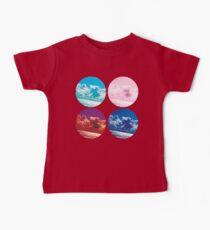 Lake Sky Circles Baby Tee