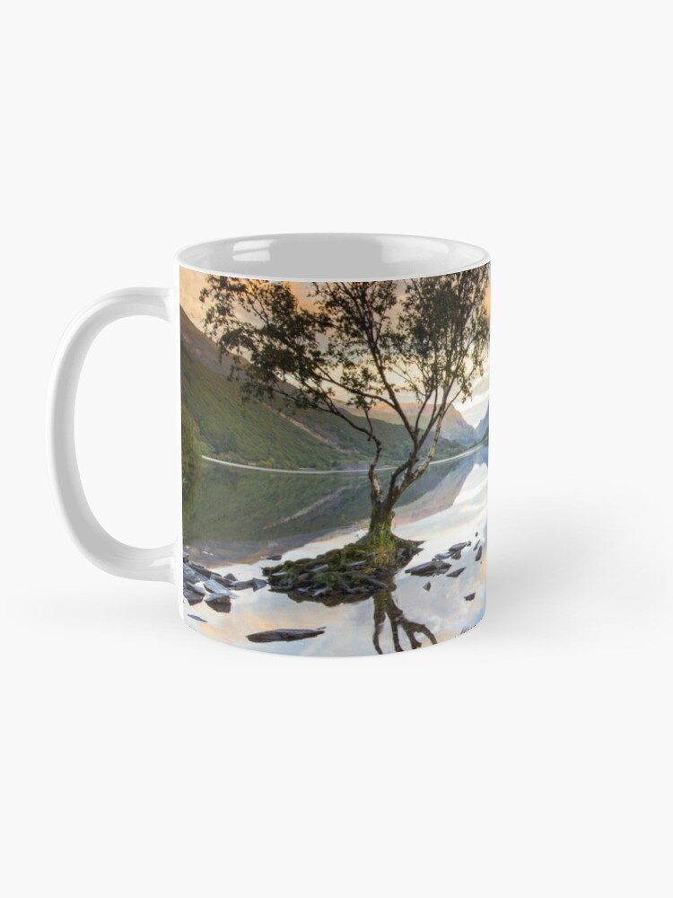 Alternate view of Snowdonia - Snowdon reflections on Llyn Padarn Mug