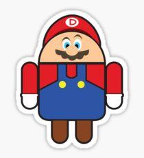 Super Droid Bros. Mario Sticker