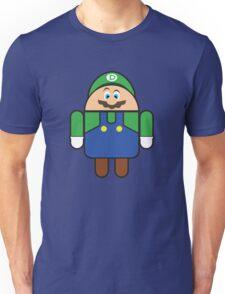 Super Droid Bros. Luigi Unisex T-Shirt