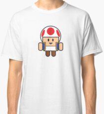 Super Droid Bros. Toad Classic T-Shirt
