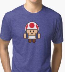 Super Droid Bros. Toad Tri-blend T-Shirt