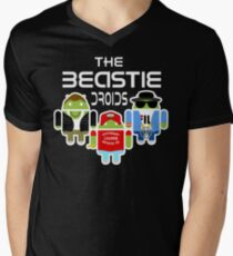 THE BEASTIE DROIDS Men's V-Neck T-Shirt