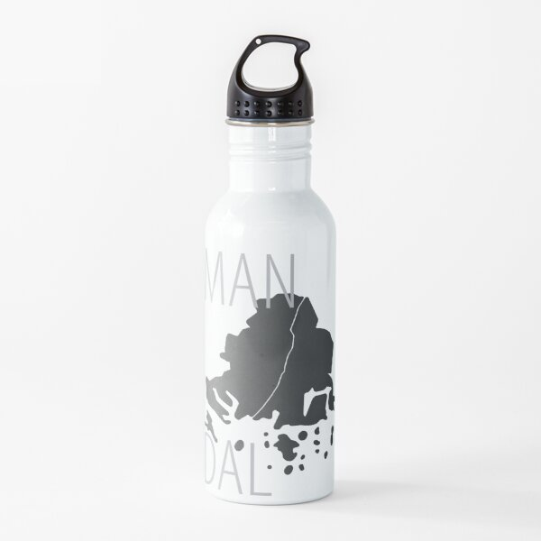 Mirra's mAps - Mandal  Water Bottle