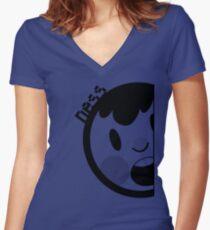 Ness Neff Parody v2 Women's Fitted V-Neck T-Shirt