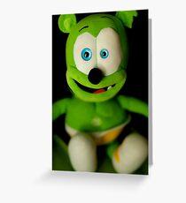 Gummy Bear Greeting Card
