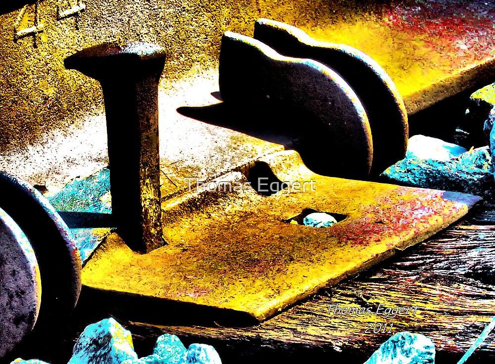 Rail Spike by Thomas Eggert