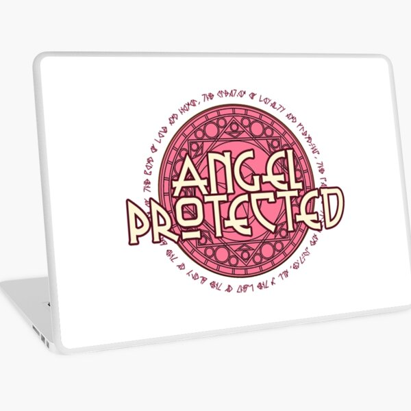 Angel Protected  Laptop Skin