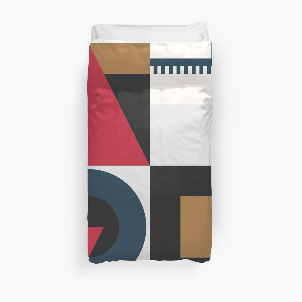 Old Century Road Duvet Cover