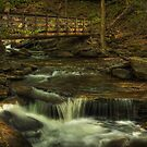 Bridge and Cascade by Aaron Campbell