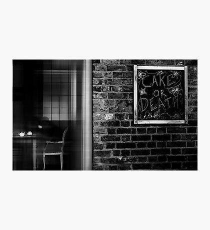 the white teapot Photographic Print