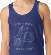 Downtown on a Moped Tank Top