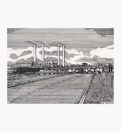 201 - BLYTH POWER STATION - DAVE EDWARDS - INK - 1995 Photographic Print