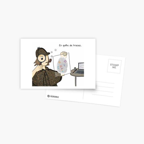 Sur les traces de l'identité numérique Carte postale