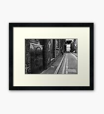 DOWN BEAT Framed Print