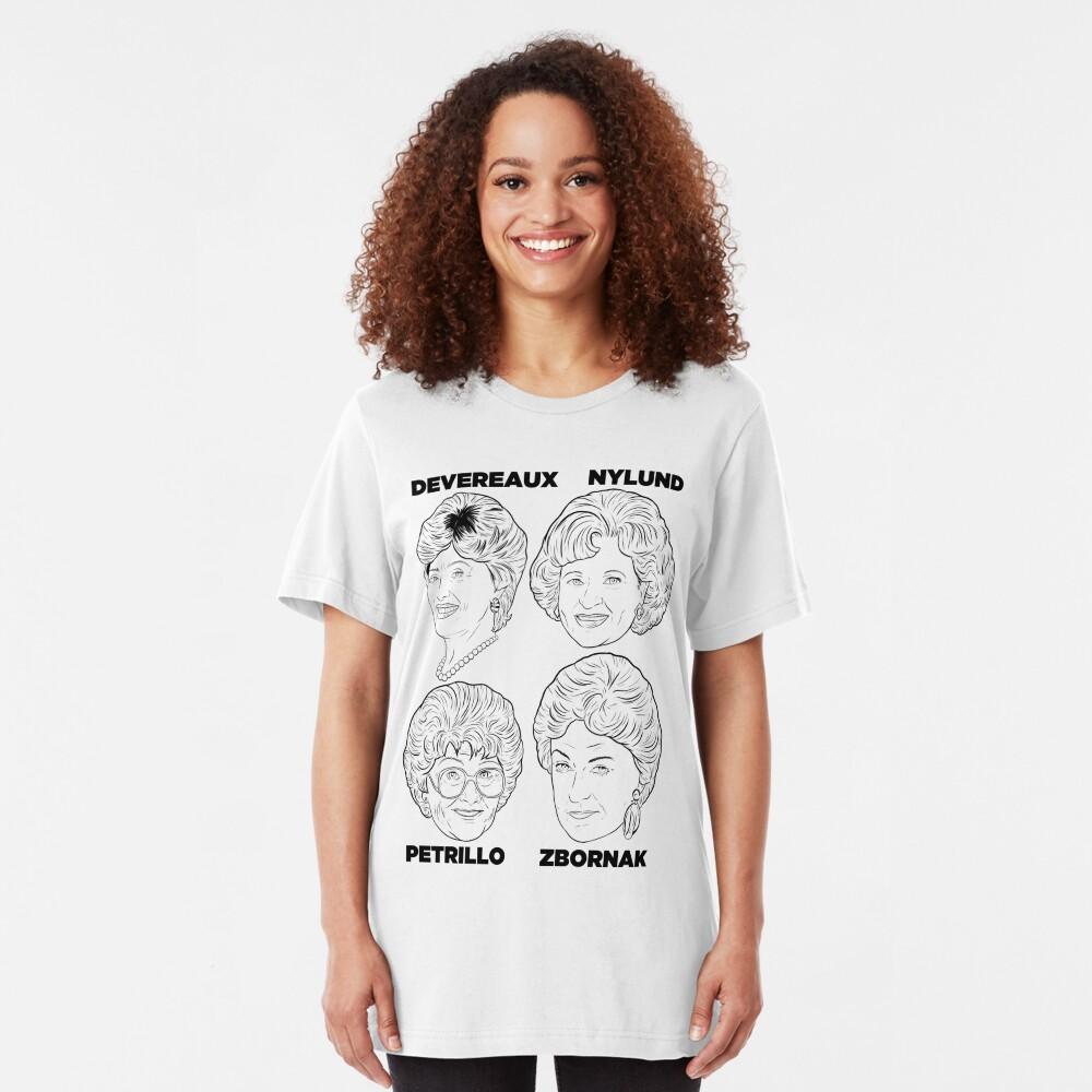 Robskiart - Golden Girls Light T Slim Fit T-Shirt